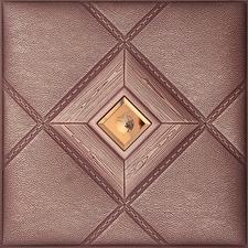 Hình ảnh Tấm ốp 3D da L4102-2