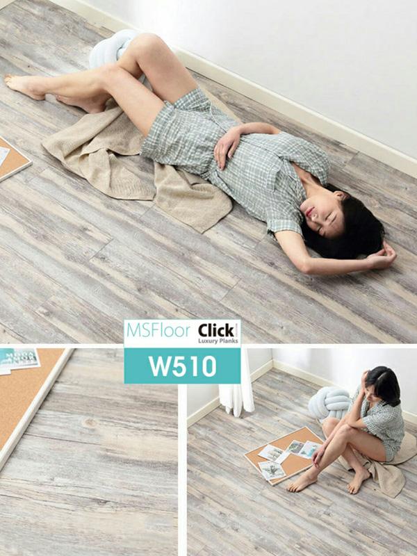 Hình ảnh Sàn vinyl có keo bóc dán W510