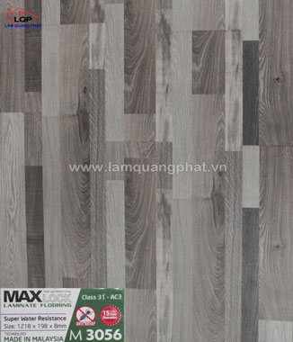 Hình ảnh Sàn gỗ Maxlock M3056
