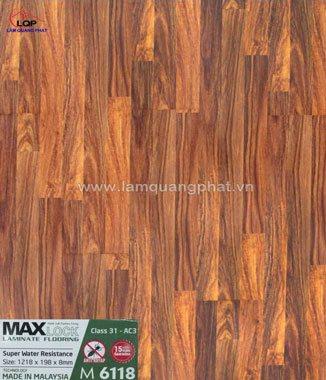 Hình ảnh Sàn gỗ Maxlock M6118