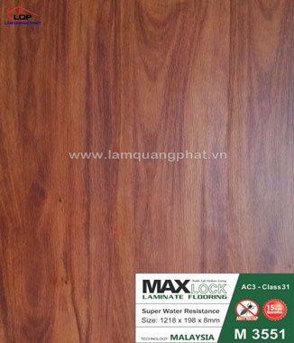 Hình ảnh Sàn gỗ Maxlock M3551
