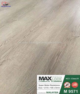 Hình ảnh Sàn gỗ Maxlock M9571