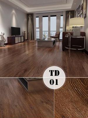 Hình ảnh Sàn nhựa có keo sẵn TD01