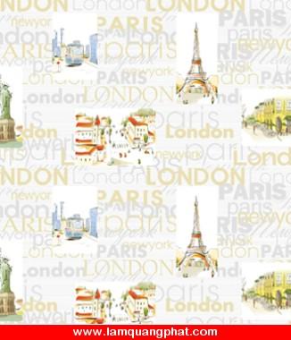 Hình ảnh Giấy dán tường Art Deco 8137-1