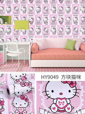 Decal dán tường Hello Kitty 9049