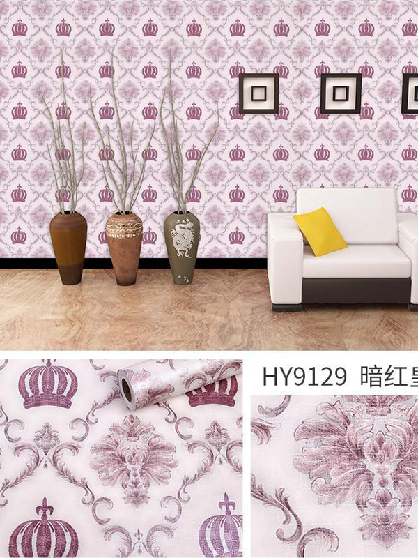 Hình ảnh Decal dán tường hoa văn cổ điển 9129