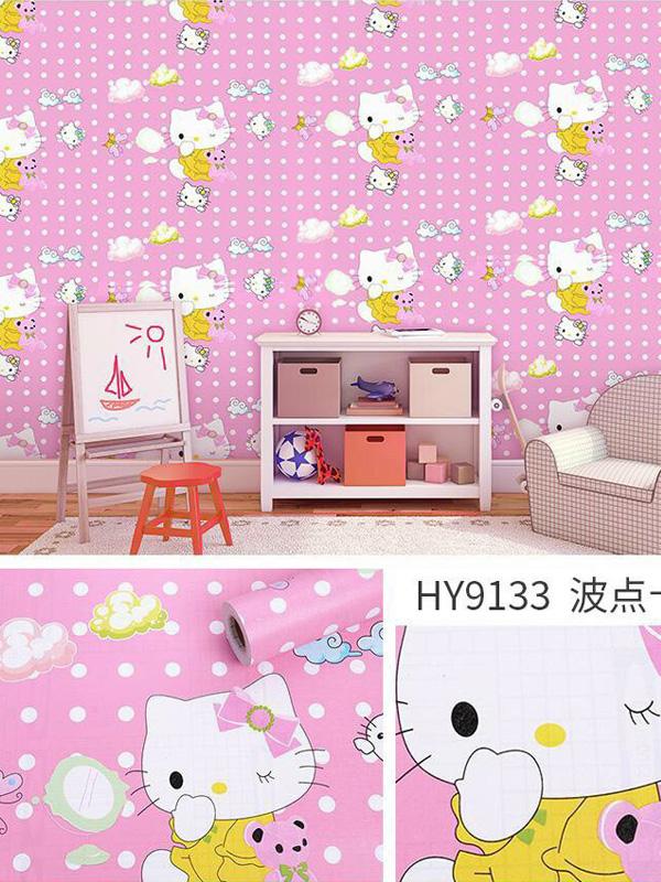 Hình ảnh Decal dán tường Hello Kitty 9133