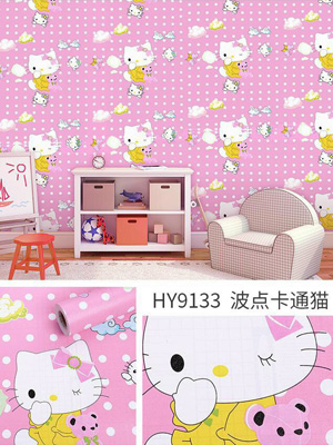 Decal dán tường Hello Kitty 9133