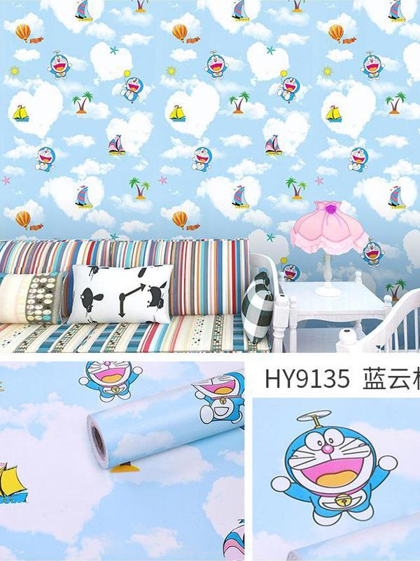 Hình ảnh Đề can dán tường Doraemon 9135