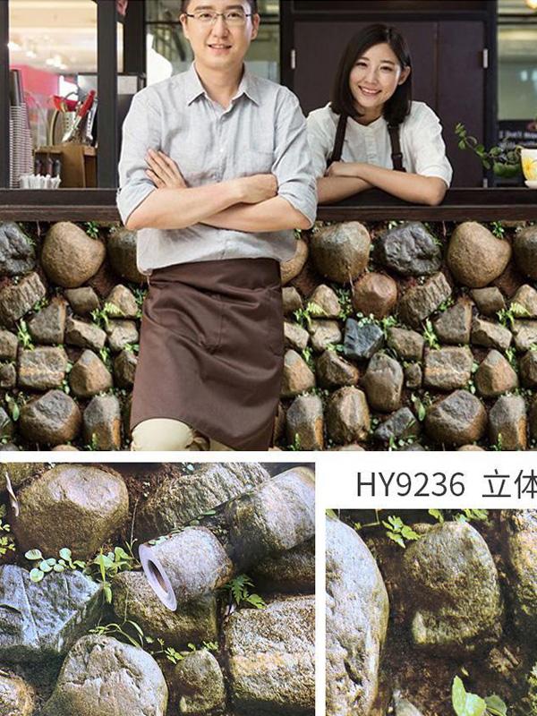 Hình ảnh Đề can dán tường giả sỏi đá 9236