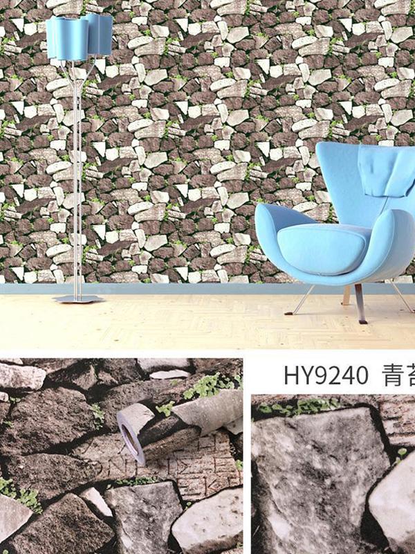 Hình ảnh Đề can dán tường cỏ đá 9240