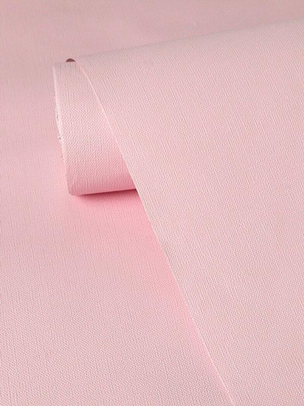 Hình ảnh Decal dán tường trơn màu hồng phấn 9516