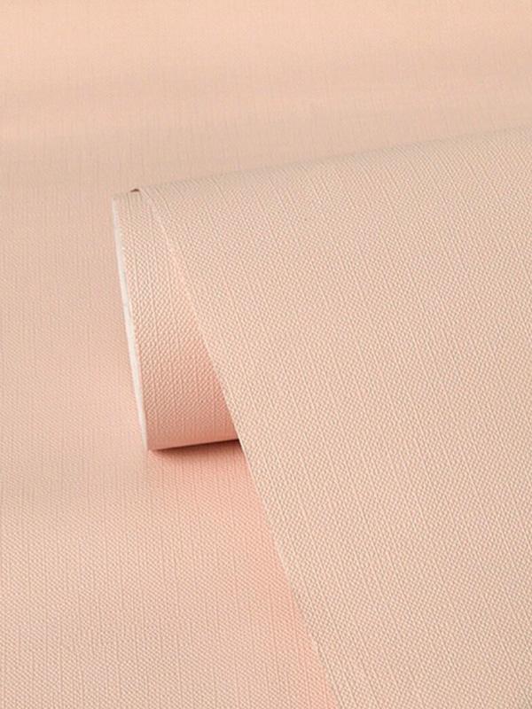 Hình ảnh Decal dán tường trơn màu hồng 9517