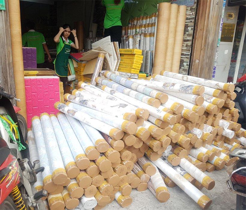 Làm sao mua giấy dán tường giá rẻ đảm bảo chất lượng tại TPHCM?