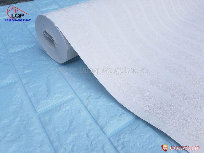 Giấy dán tường sọc trắng giá rẻ Bình Dương