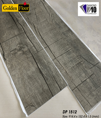 Hình ảnh Sàn nhựa tự dính Golden DP1512