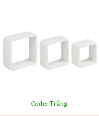 Hình ảnh Kệ treo tường 3TC màu trắng