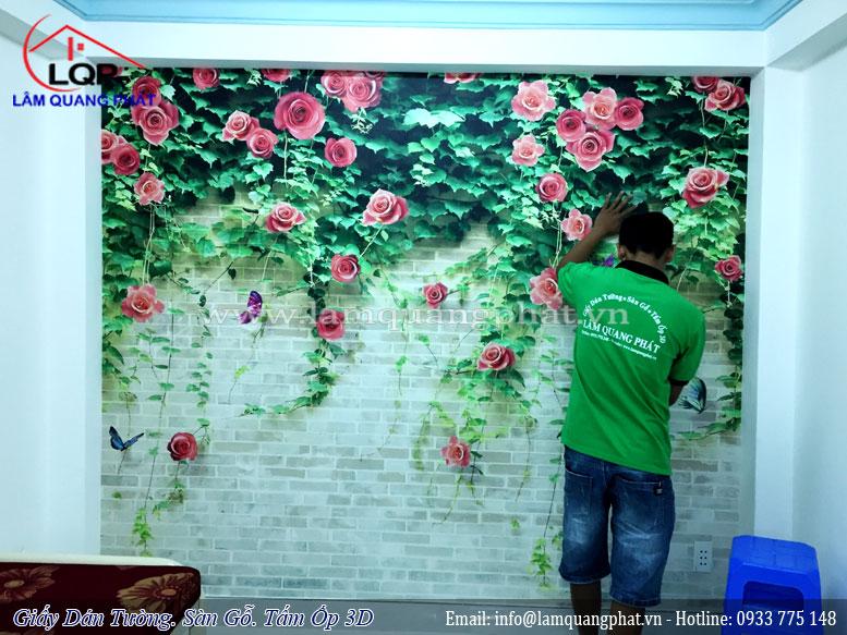 Tranh dán tường Lâm Quang Phát