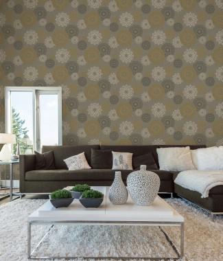 Hình ảnh Giấy dán tường Phòng khách 77178-2