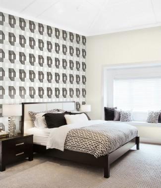 Hình ảnh Giấy dán tường Phòng ngủ 77175-1