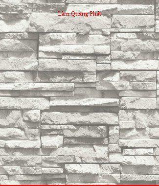Hình ảnh Giấy dán tường giả đá 85015-1