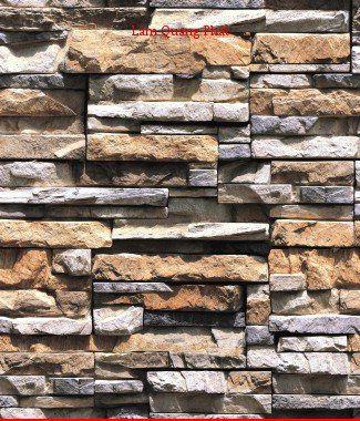 Hình ảnh Giấy dán tường giả đá 85015-2