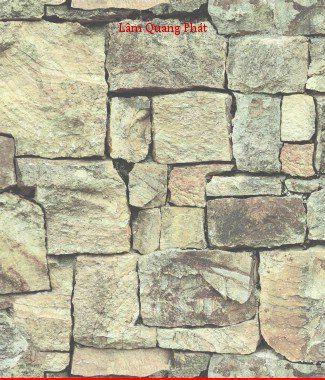 Hình ảnh Giấy dán tường giả đá 85016-1