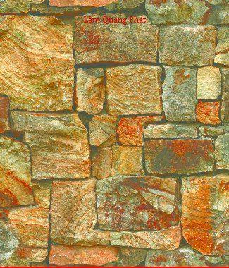 Hình ảnh Giấy dán tường giả đá 85016-2