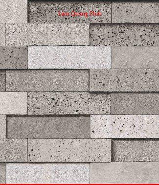Hình ảnh Giấy dán tường giả đá 85017-3