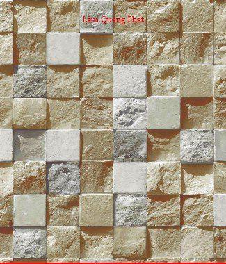Hình ảnh Giấy dán tường giả đá 85018-1
