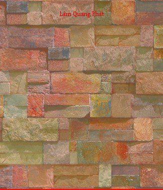 Hình ảnh Giấy dán tường giả đá 85021-1