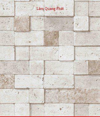 Hình ảnh Giấy dán tường giả đá 85022-1