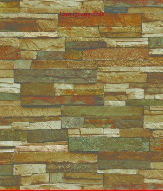 Hình ảnh Giấy dán tường giả đá 85025-1
