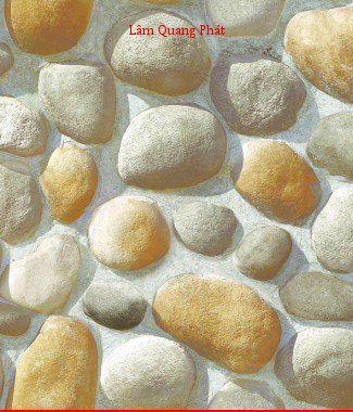 Hình ảnh Giấy dán tường giả đá 85045-1