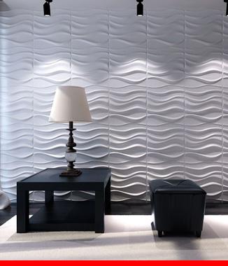Hình ảnh Ốp tường 3D E514 LAKE