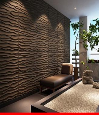 Hình ảnh Ốp tường 3D E602 BEACH
