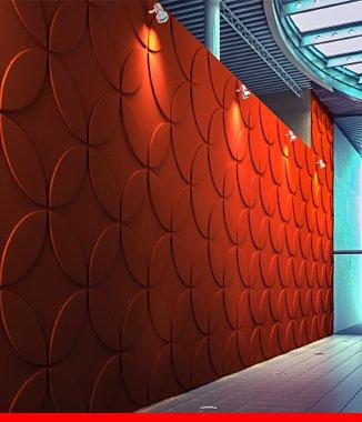 Hình ảnh Tấm ốp tường 3D P537