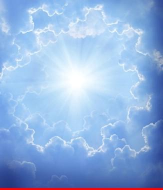 Hình ảnh Tranh dán tường bầu trời CL01
