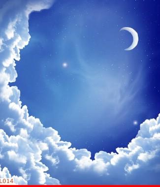 Hình ảnh Tranh dán tường bầu trời CL014
