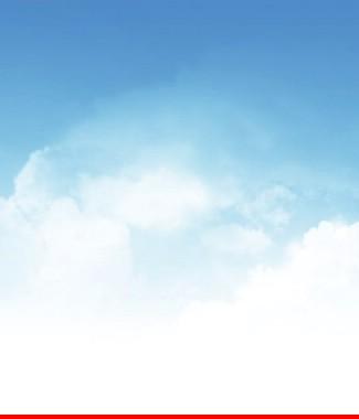 Hình ảnh Tranh dán tường bầu trời CL018