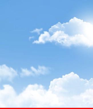Hình ảnh Tranh dán tường bầu trời CL019