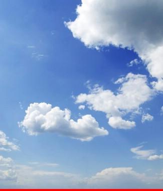 Hình ảnh Tranh dán tường bầu trời CL023