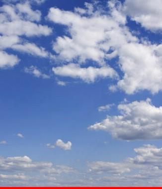 Hình ảnh Tranh dán tường bầu trời CL024
