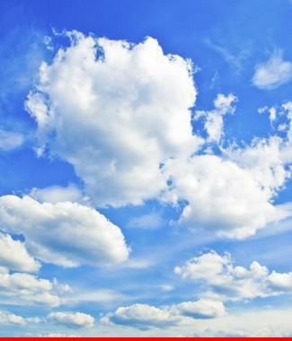 Hình ảnh Tranh dán tường bầu trời CL025
