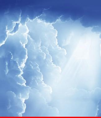 Hình ảnh Tranh dán tường bầu trời CL026