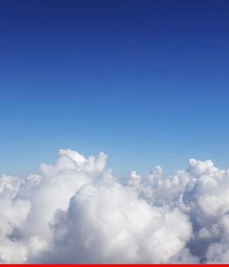 Hình ảnh Tranh dán tường bầu trời CL029