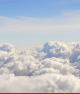 Hình ảnh Tranh dán tường bầu trời CL030