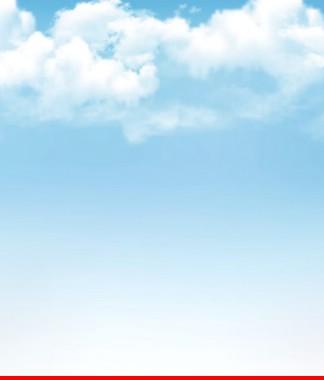 Hình ảnh Tranh dán tường bầu trời CL033