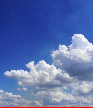 Hình ảnh Tranh dán tường bầu trời CL034
