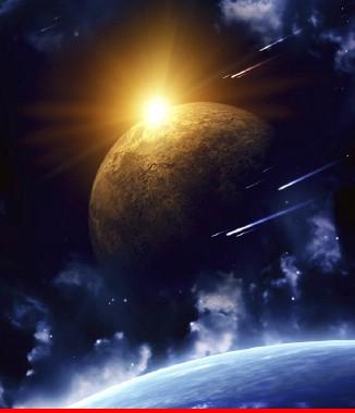 Hình ảnh Tranh dán tường bầu trời CL04
